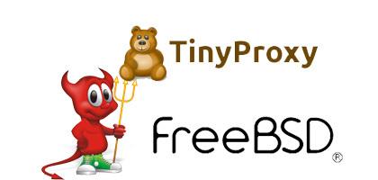 Tinyproxy - легкий проксі-сервер під FreeBSD